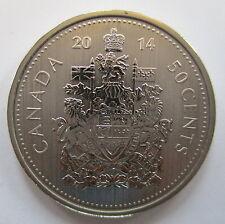 2014 CANADA 50 CENTS SPECIMEN HALF DOLLAR COIN