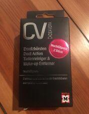 Nachfüllpack/Ersatzbürsten für Gesichtsreinigungsbürste CV CADEAVERA (DM), NEU