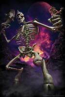 Cyclops Skeleton Tom Wood Fantasy Art - Poster 24x36 inch