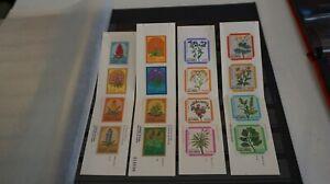 Lot 4 Portugal Madeira Lot of 4 x Booklet sc# 80a, 85a, 328a, 332a Flower OG MNH