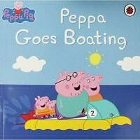 Peppa Pig: Peppa Goes Boating by Mandy archer, Acceptable Used Book (Paperback)