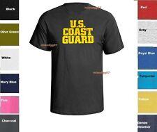 US United States Coast Guard USCG T-Shirt US Army Military Shirt SZ S-5XL