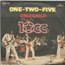 10cc - One-Two-Five / Only Child (Vinyl-Single 1980) !!!