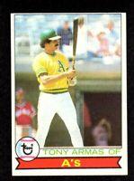 """1979 Topps #507 Tony Armas Oakland Athletics Baseball Card  """"mrp""""  OC SHARP"""