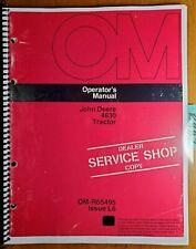 John Deere 4630 Tractor Owners Operators Manual Om R65495 L6 1276