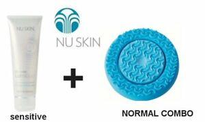 NUSKIN  LumiSpa Activating Cleanser Peau Sensible + Tète Silicone Peaux Mixtes