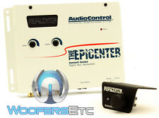 AUDIO CONTROL EPICENTER CAR AUDIO BASS EARTHQUAKE MAXIMZER ENHANCER WHITE NEW