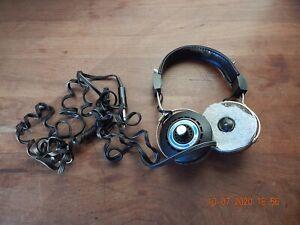 Rare Vintage Koss HV/1LC Professional Stereo Headphones