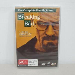 Breaking Bad Season 4 DVD Region 4, Brand New & Sealed, Series 4, Free Postage