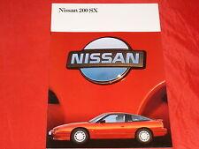 NISSAN 200 SX TURBO 16v prospetto di 1989