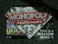 Monopoly  Millionaire  board game great Family  game