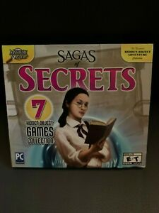 Sagas Of Secrets: 7 Hidden Object Games Collection PC New Sealed