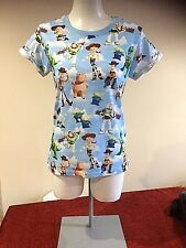 DISNEY PIXAR Blue T Shirt Size 6 - 8