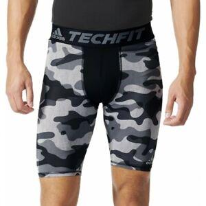 Adidas Men's Grey Climalite Ultra-Tight Tech Fit Compression Pants AJ5044