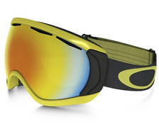 NEW Oakley Canopy Goggles-Citrus Iron-Fire Iridium Lens-SAME DAY SHIPPING!