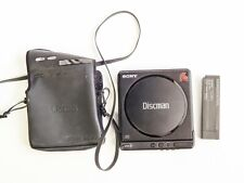 SONY DISCMAN D-4 COMPACT DISC PLAYER CD VTG WALKMAN WITH CASE NOT TESTED