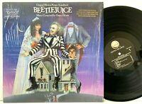 Beetlejuice - in-shrink PROMO Original Soundtrack LP Vinyl Record Album