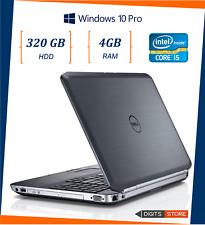 """pc portatile notebook usato ricondizionato 15,6"""" DELL E5520 4GB HHD 320GB I5"""