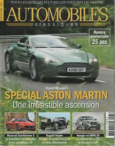 AUTOMOBILES CLASSIQUES 175 ASTON MARTIN V8 VANTAGE & DBR9 HUMMER H2 BMW X6 50i
