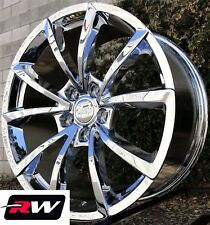 "20"" inch RW Wheels for Jeep Grand Cherokee 20x9"" Chrome SRT Rims 5x5"" 5x127 +34"