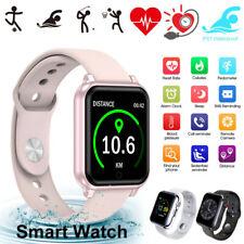 Reloj Inteligente Impermeable Ritmo Cardíaco Pulsera Mujeres Regalo Para iPhone Android Samsung