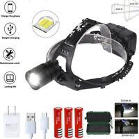 20W Jadg Taschenlampe Zoom USB XHP50 LED Kopflampe Stirnlampe Arbeitslampe 18650