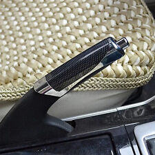 1X Auto Car Carbon Fiber Style Hand Brake  Handle Hand Break Protect Cover