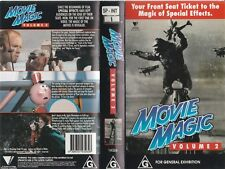 MOVIE MAGIC VOLUME 2 EPISODES FROM THE SPECIAL EFFECTS SERIES RARE PAL VHS VIDEO