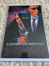American Psycho Christian Bale 11X17 Original Movie Poster