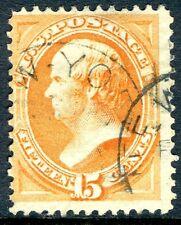 USA-1873 15c Orange Sg 165 VERY FINE USED V18060