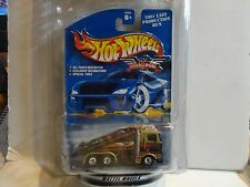 Hot Wheels Final Run Gold Ramp Truck w/Real Riders