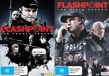 Flashpoint - Season 4 & 5 DVD [New/Sealed] Region 4 Aust Release