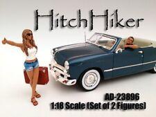 American Diorama 23896G Hitchhiker Figuren Set 1:18 limitiert 1/1000