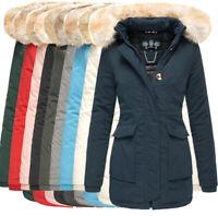 Navahoo Damen sehr warme Winter Jacke Mantel winter Parka Schneeengel ANORAK NEU