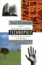 TECHNOPOLY by Neil Postman FREE SHIPPING paperback book culture technology