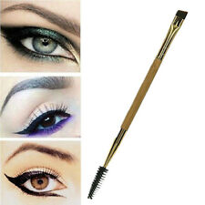 Bamboo Eyelash Comb and Double Ended Angled Eyebrow Brush Make Up Tools