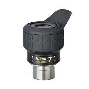 """Nikon 1.25"""" NAV-SW Eyepiece with 72° AFOV - 7mm # NAV-7SW"""