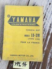 Yamaha BOP LB-3M type 1V6 France catalogue pièces détachées parts list moto