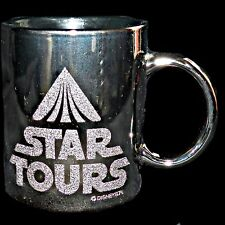 Vintage 1986 Disneyland Lucasfilm Star Wars Tours Ride Tomorrowland Coffee Mug