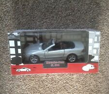 WELLY CO. Silver Mercedes Benz SL 500 Diecast Model Car - New and Unopened
