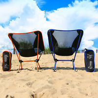 WolfWise Portable Camping Fishing Chair Lightweight Outdoor Beach Seating