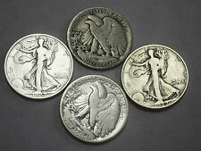 1927-s Walking Liberty Half. Average Grade of Coin You Receive is Photographed