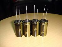 4 PIECES MADE IN JAPAN PANASONIC FC 2200uF 50V 105C ELECTROLYTIC CAPACITOR