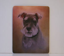 Dog Mousemat - MINIATURE SCHNAUZER by UK Artist