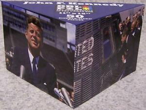 Jigsaw 2 sided Puzzle in the 3 sided box 50 piece John F. Kennedy NEW