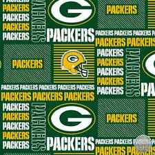 134679935 - Green Bay Packers NFC NFL 6426D 100% Cotton Team Fabric by the Yard