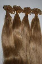 "U-Tip Pre-Bonded Extensions Finest European Remy Hair 100 Strands 22"" Color #12"