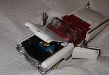 1987 Franklin Mint Precision Models '59 Cadillac Eldorado Convertible White/Red