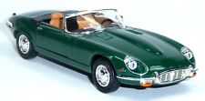 1971 Jaguar E-Type Cabrio Sammlermodell ca. 1:43 / 11cm grün Lucky Diecast