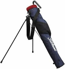 Titleist Golf Club Case Self Stand Carry 47 inch Corresponding Ajssb71 Navy Ems